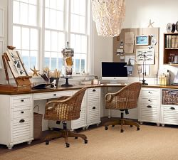 Island Chic Home Office
