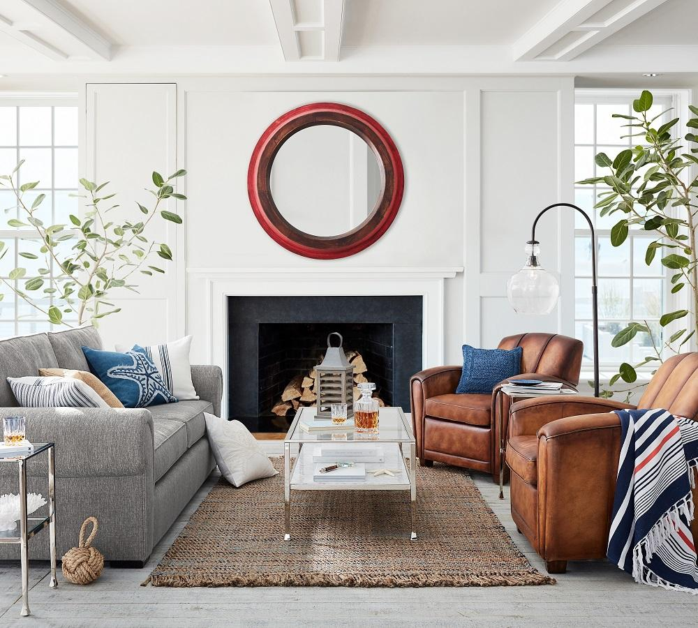 Nautical Retreat Living Room
