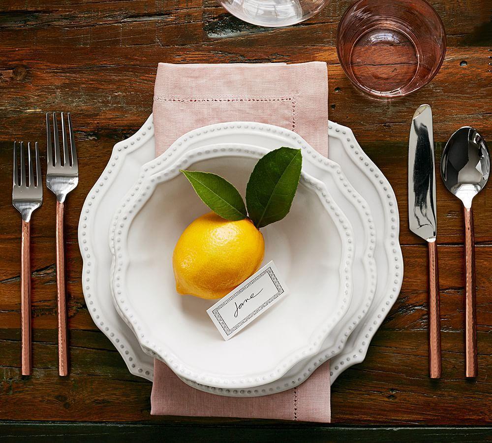 Copper Handled 5-Piece Cutlery Set