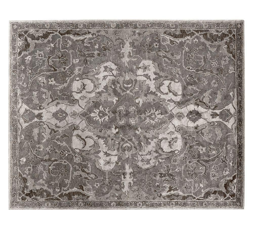 Nolan Persian Rug Grey Pottery Barn Au