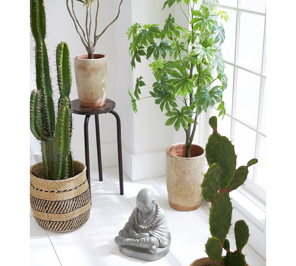 Faux Potted Saguaro Cactus