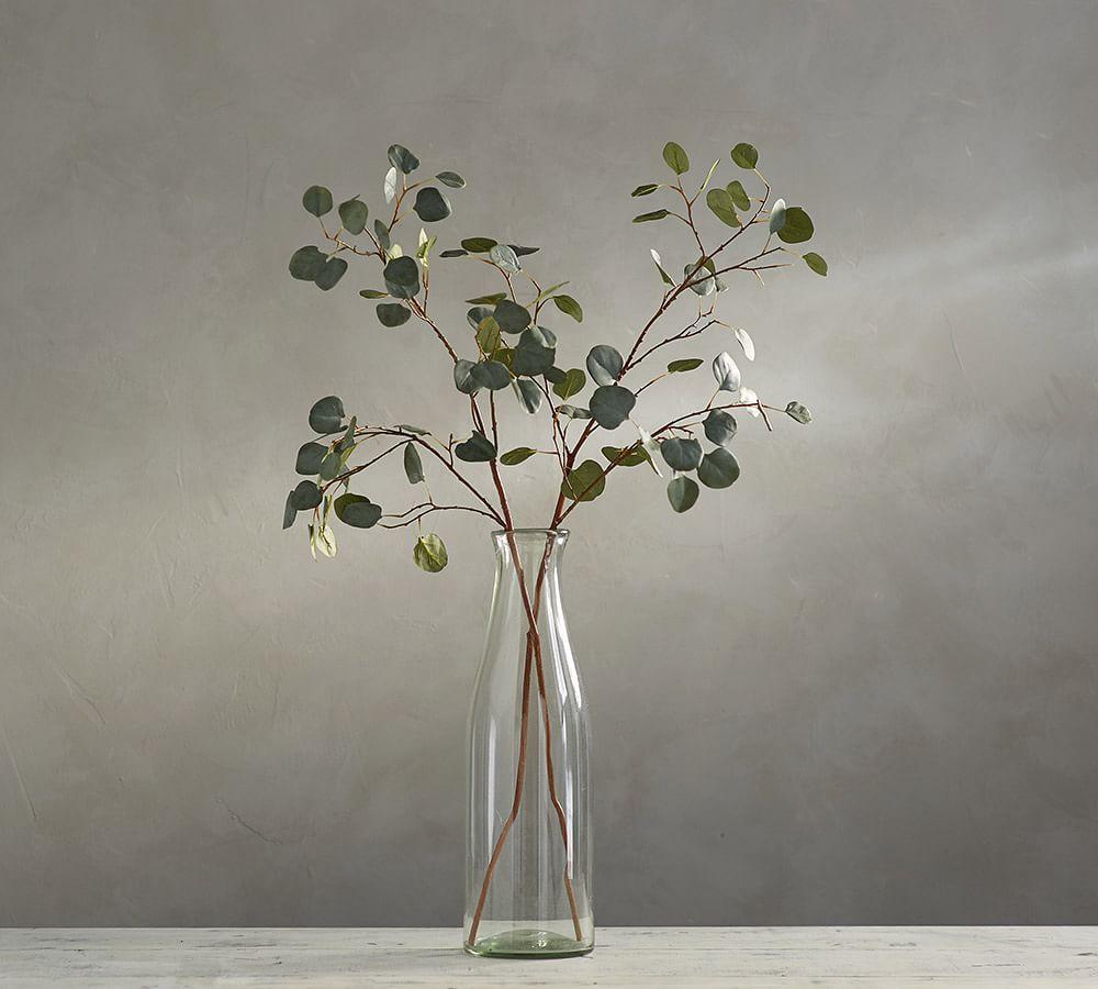Faux Silver Dollar Eucalyptus Branch