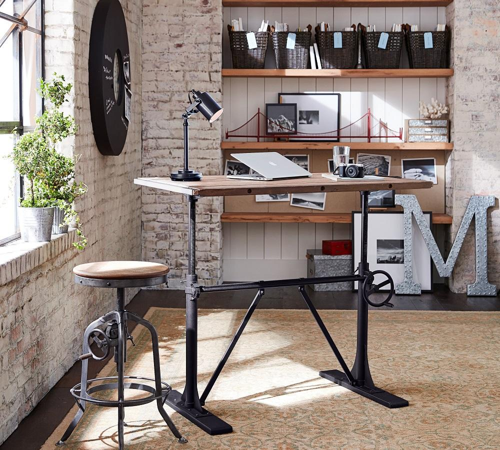 Pittsburgh Crank Sit-Stand Desk