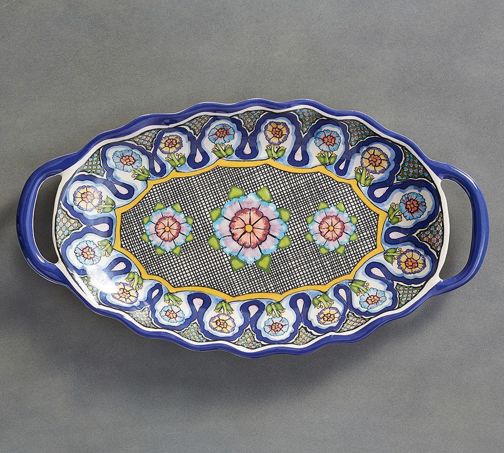 Del Sol Melamine Platter