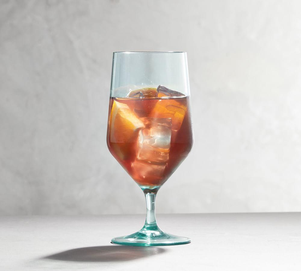 Happy Hour Acrylic Goblet - Turquoise