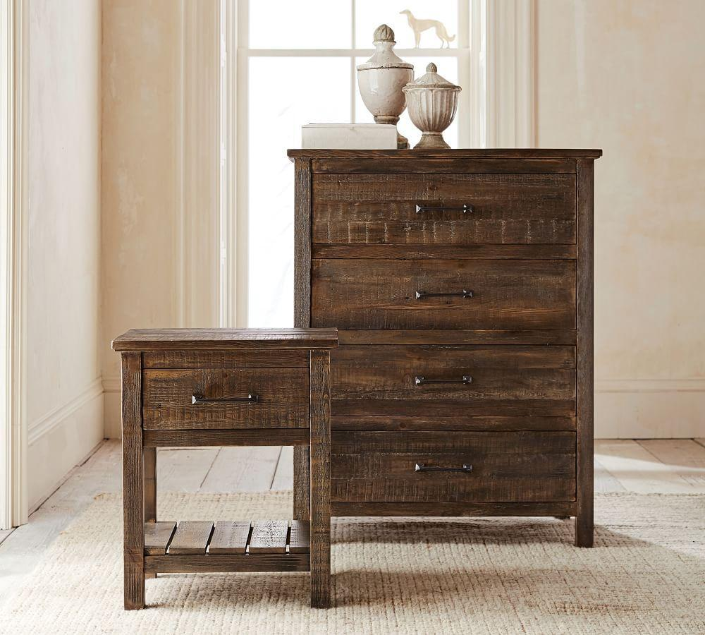 Paulsen Reclaimed Wood 4-Drawer Dresser