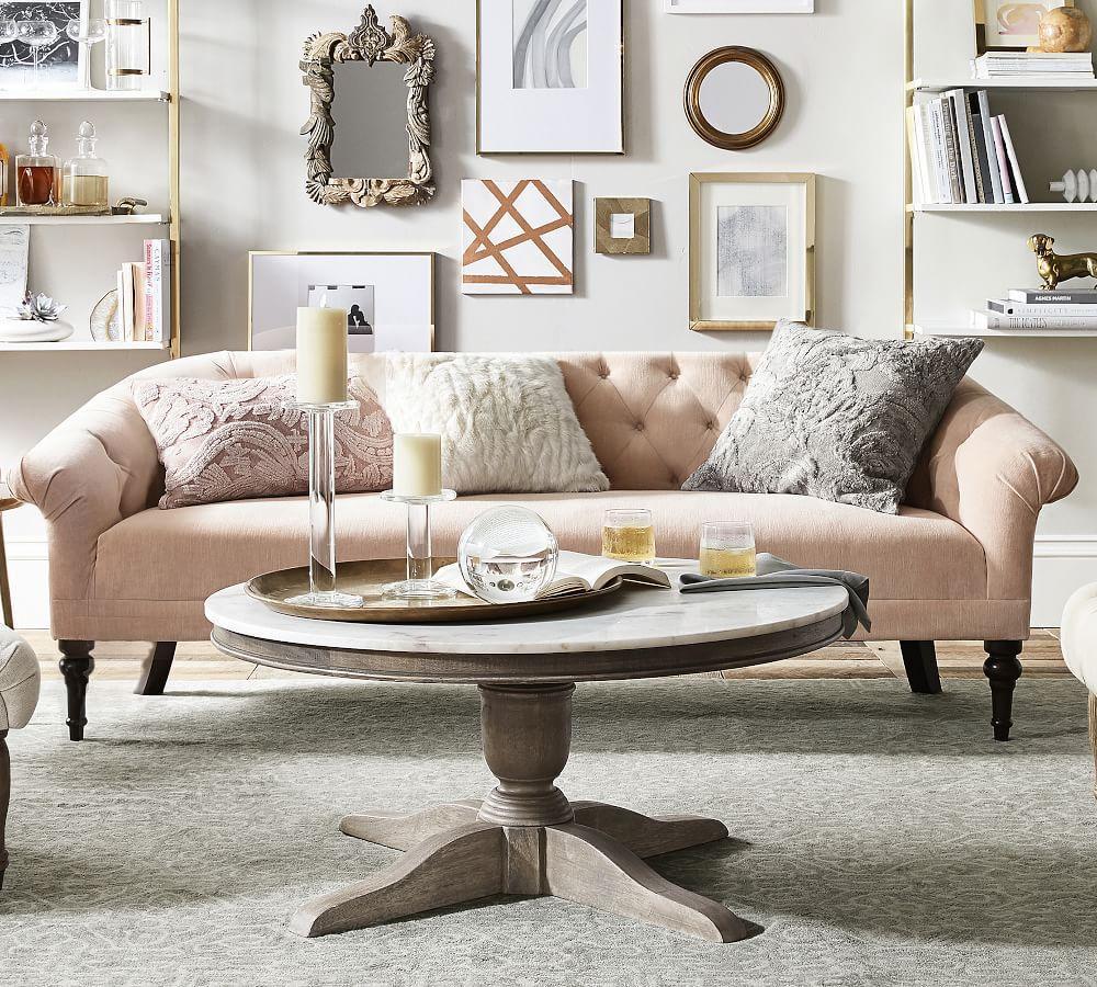 Adeline Upholstered Mini Sofa (150 cm)