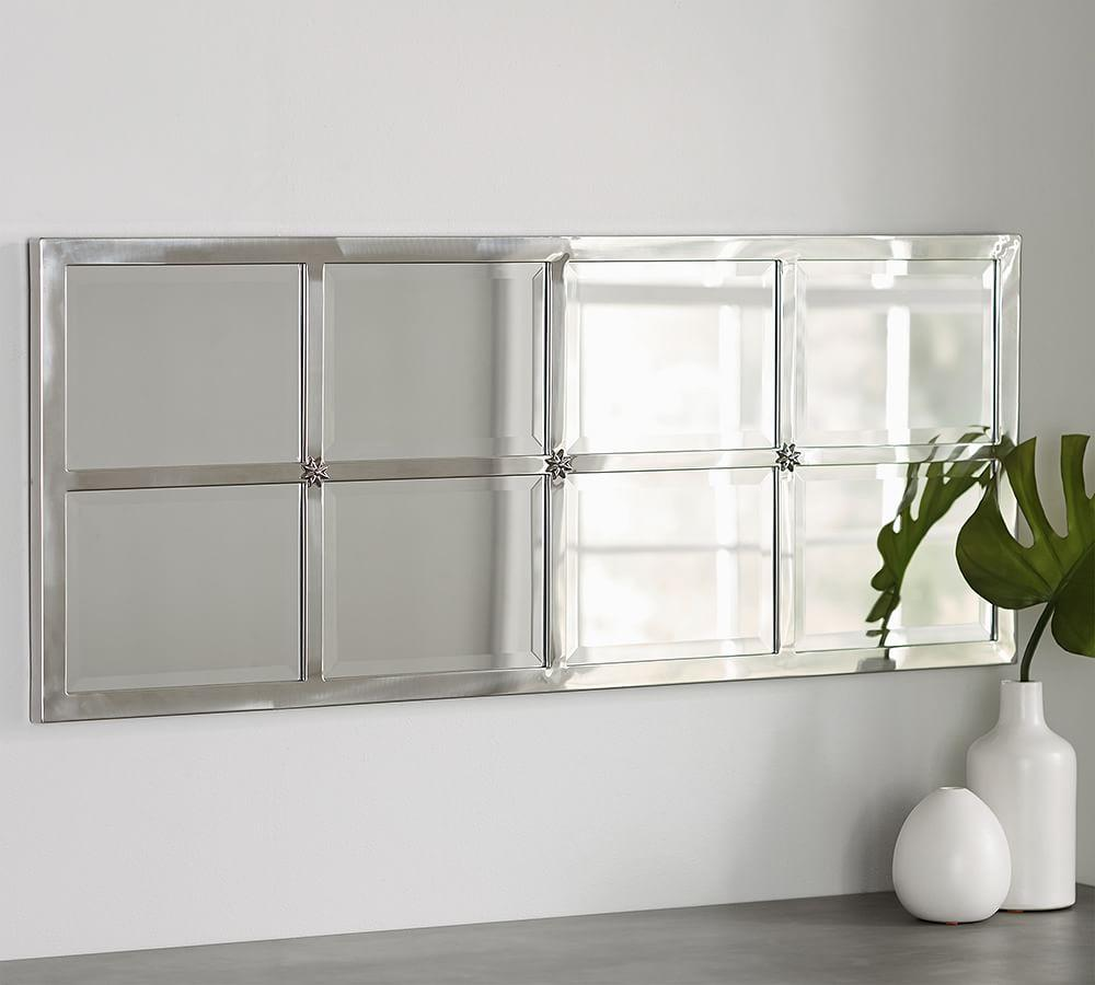 Eagan Multi-panel Extra Small Mirror - Silver