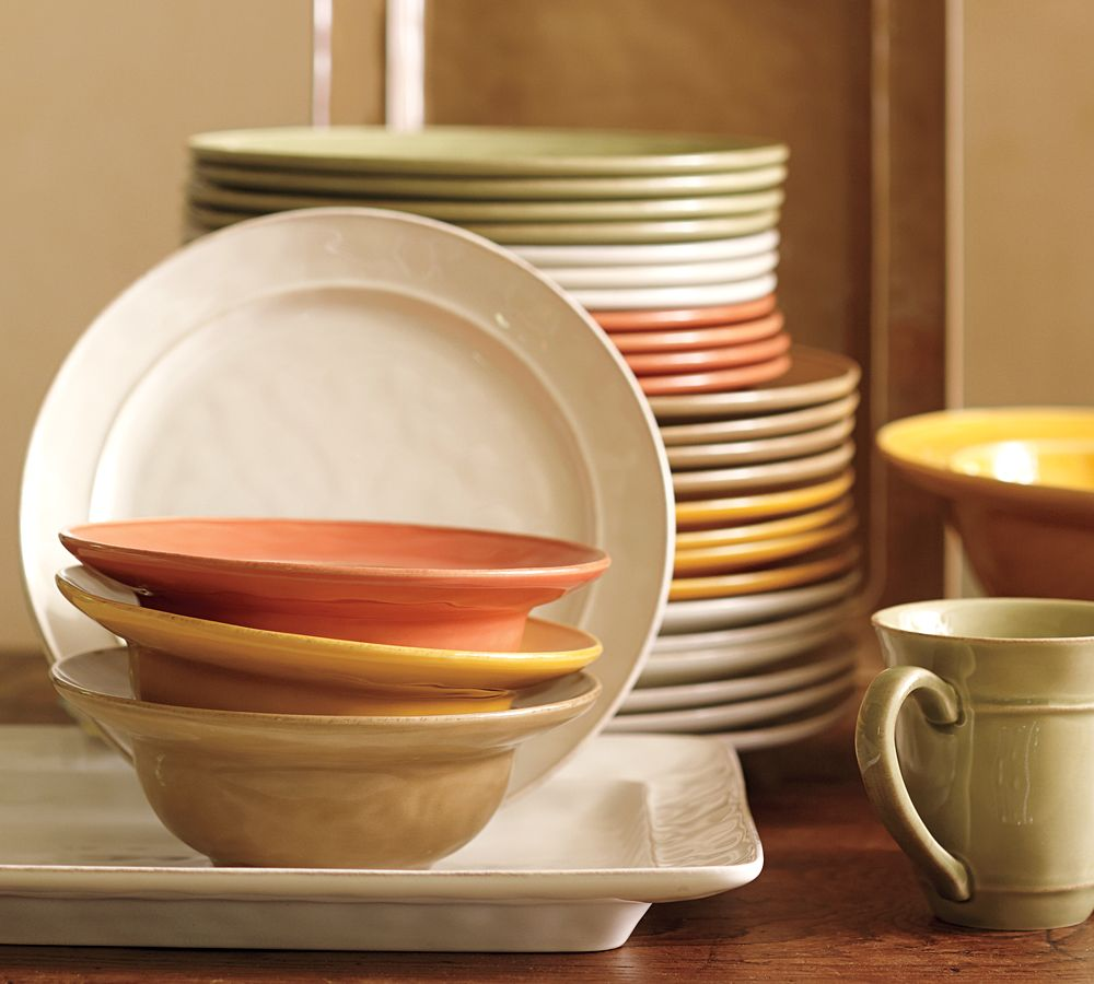 Cambria Dinnerware Persimmon Pottery Barn Au