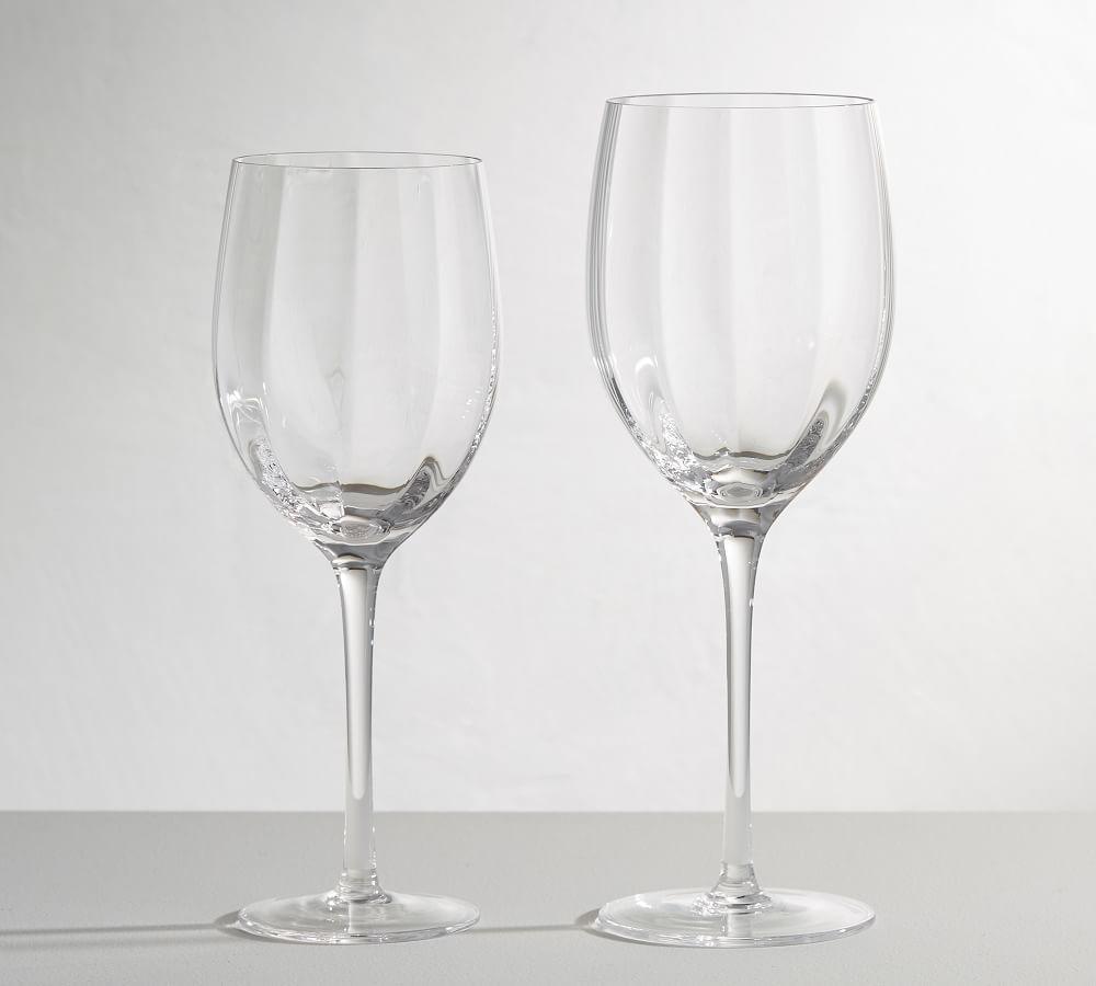 Optic Wine Glasses