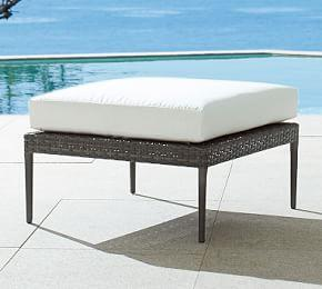 Cammeray All-Weather Wicker Ottoman