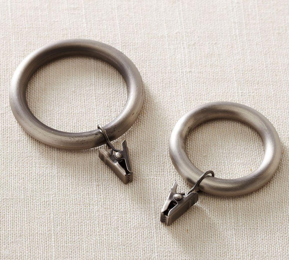 PB Standard Clip Rings - Pewter Finish