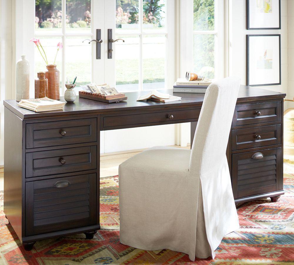 Whitney Rectangular Desk Pottery Barn