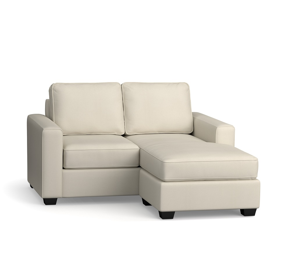 SoMa Fremont Square Arm Upholstered Reversible Chaise Sectional