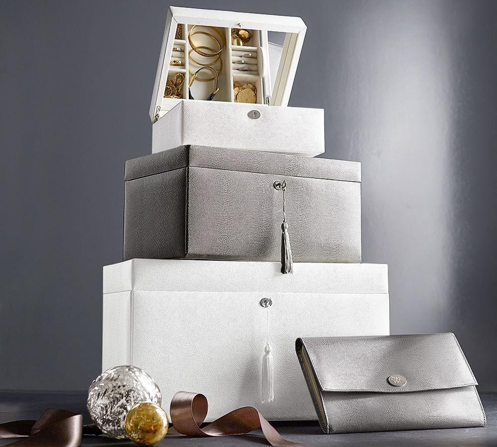 McKenna Leather Medium Jewellery Box