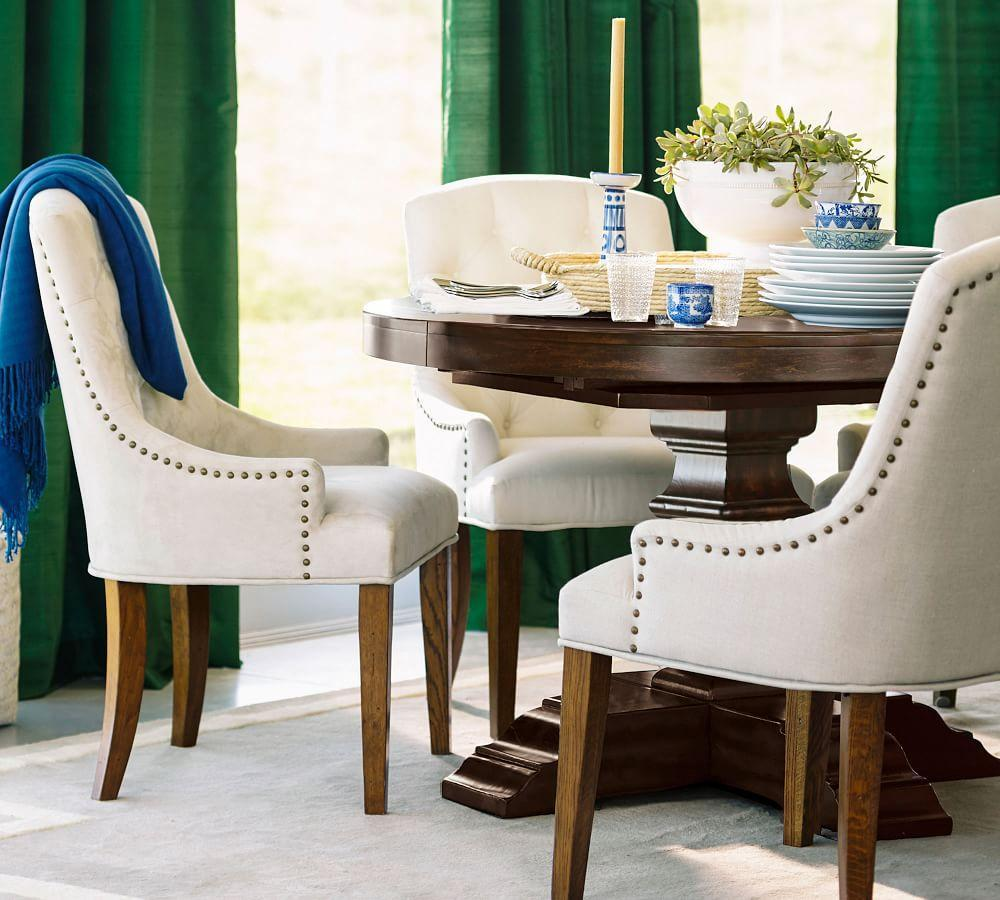 Banks Extending Round Dining Table