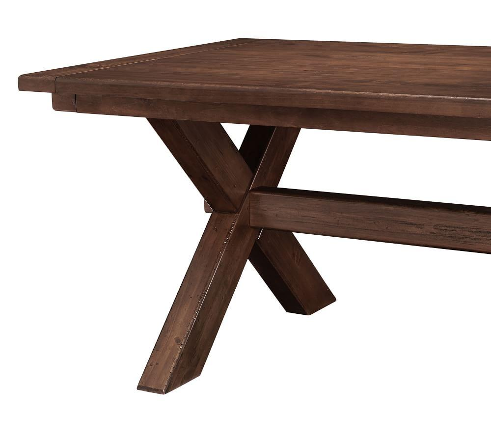 Toscana Extending Dining Table Tuscan Chestnut Pottery