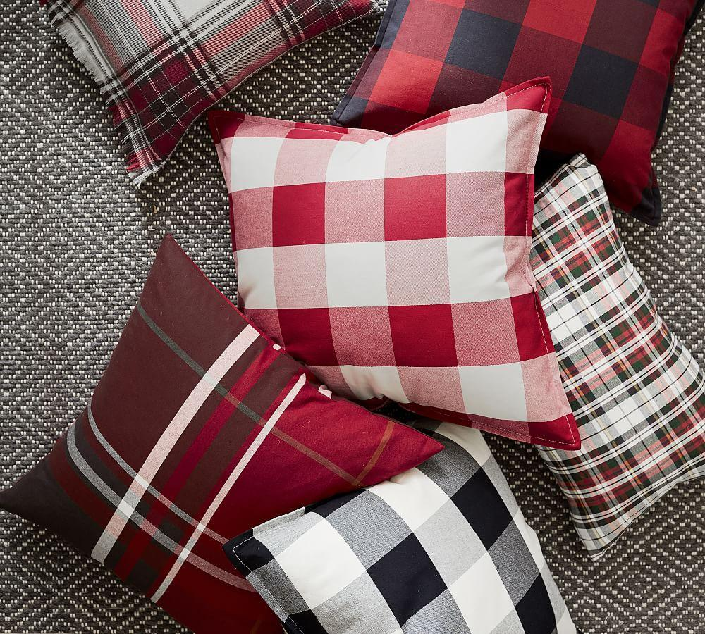 Denver Plaid Lumbar Cushion Cover