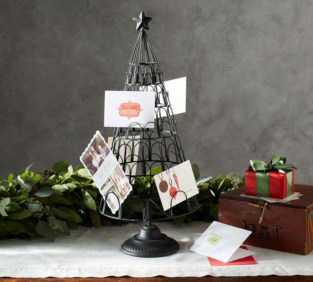 Christmas Tree Card Holder | Pottery Barn AU