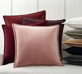 Washed Velvet Cushion Cover
