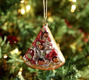 mercury pizza slice ornament