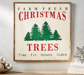 farm fresh christmas trees art