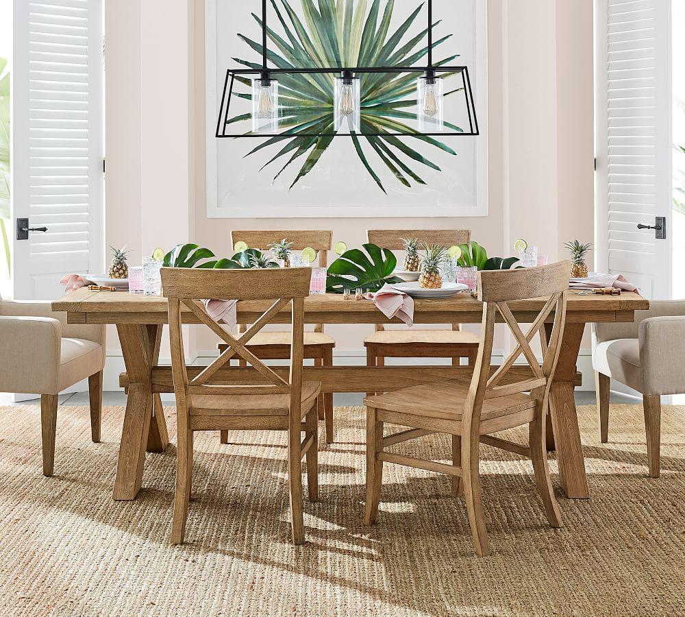 Toscana extending dining table seadrift