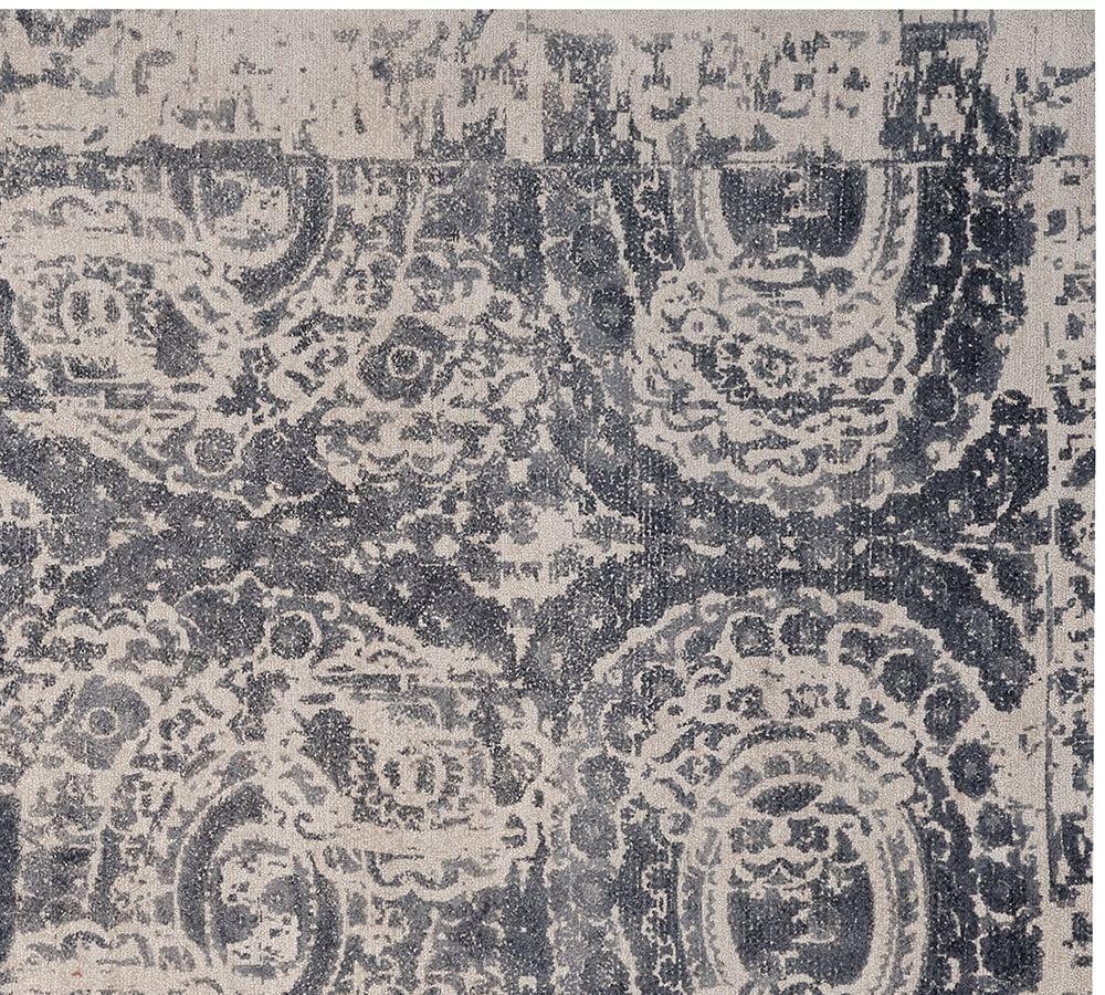 Bosworth Printed Rug - Grey