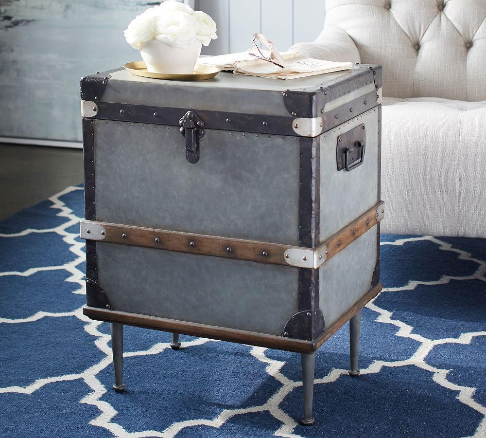 Kirkwood Trunk Side Table by Pottery Barn