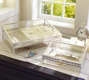 Antique Silver Jewellery Boxes