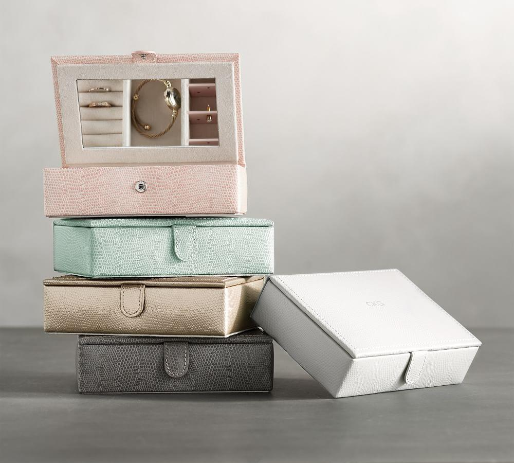 McKenna Leather Travel Jewellery Box