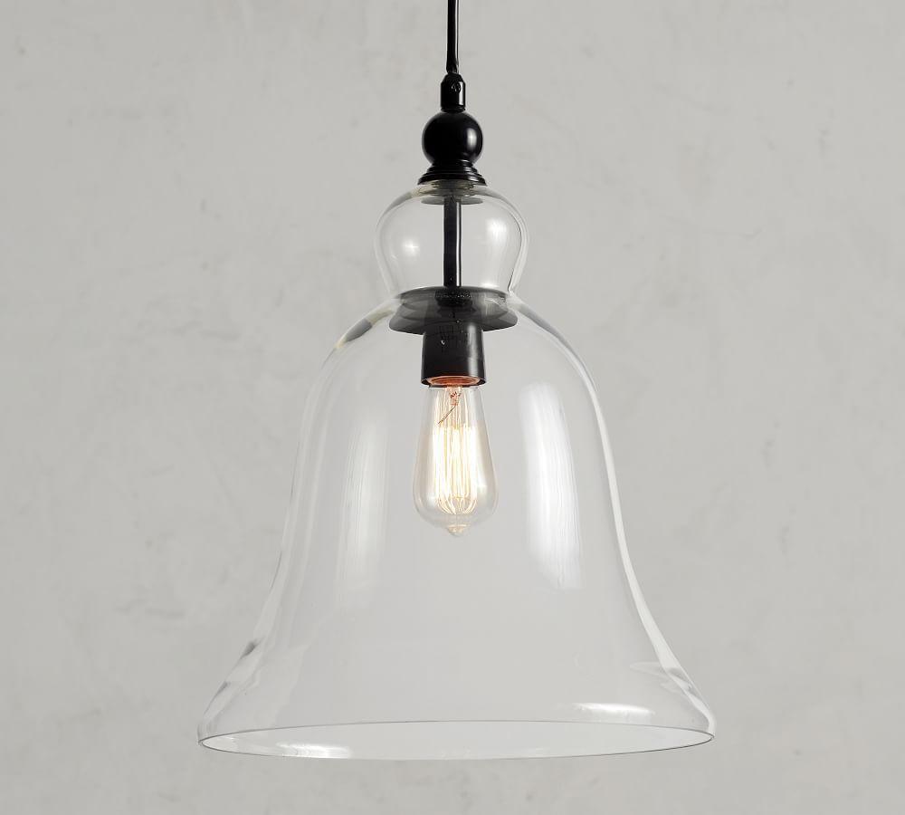 Rustic Glass Pendant - Large