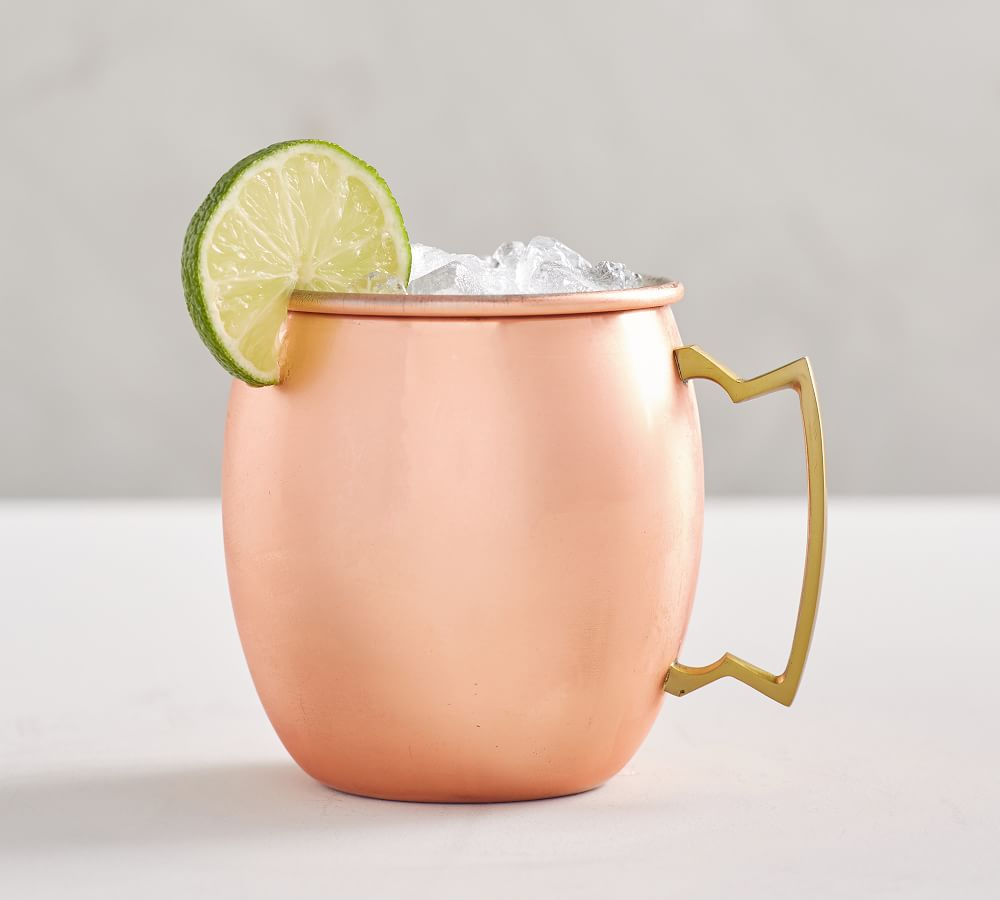 Copper Moscow Mule Mug, Set of 2