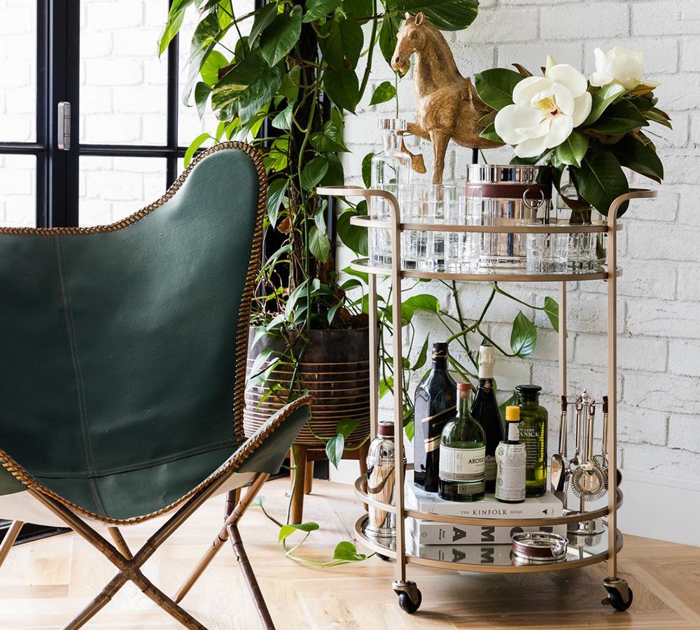 Tristan Bar Cart