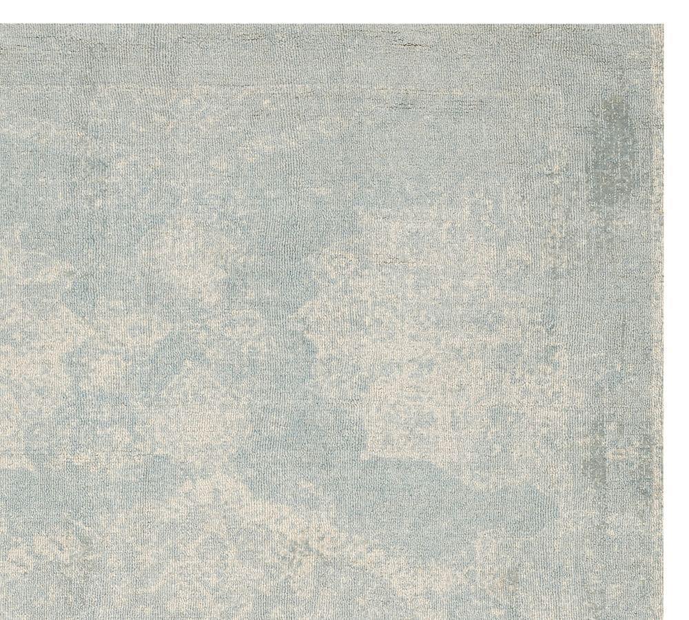 Barret Printed Rug - Porcelain Blue
