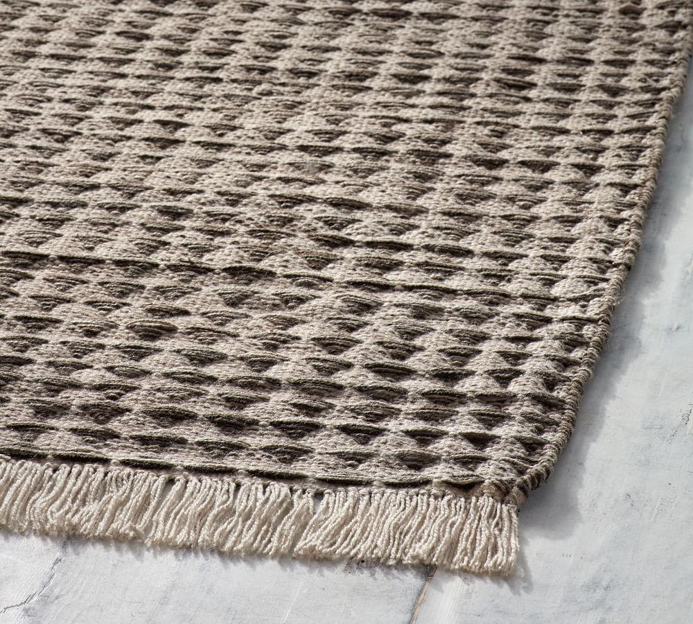 Oden Indoor Outdoor Rug Charcoal Pottery Barn Au