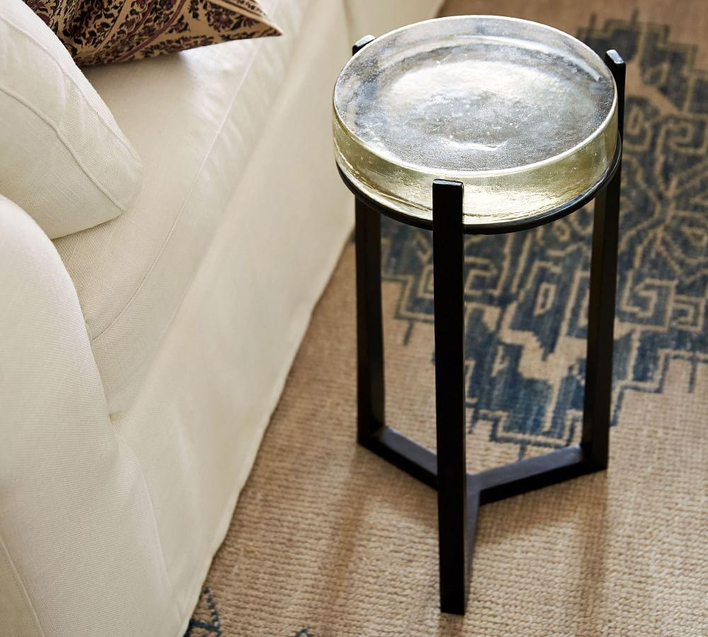Cori Glass Accent Table