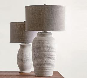 Maddox Ribbed Table Lamp Base