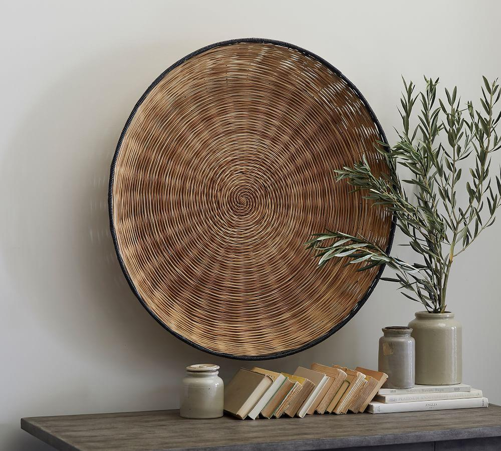 Atwater Woven Wall Art by Pottery Barn