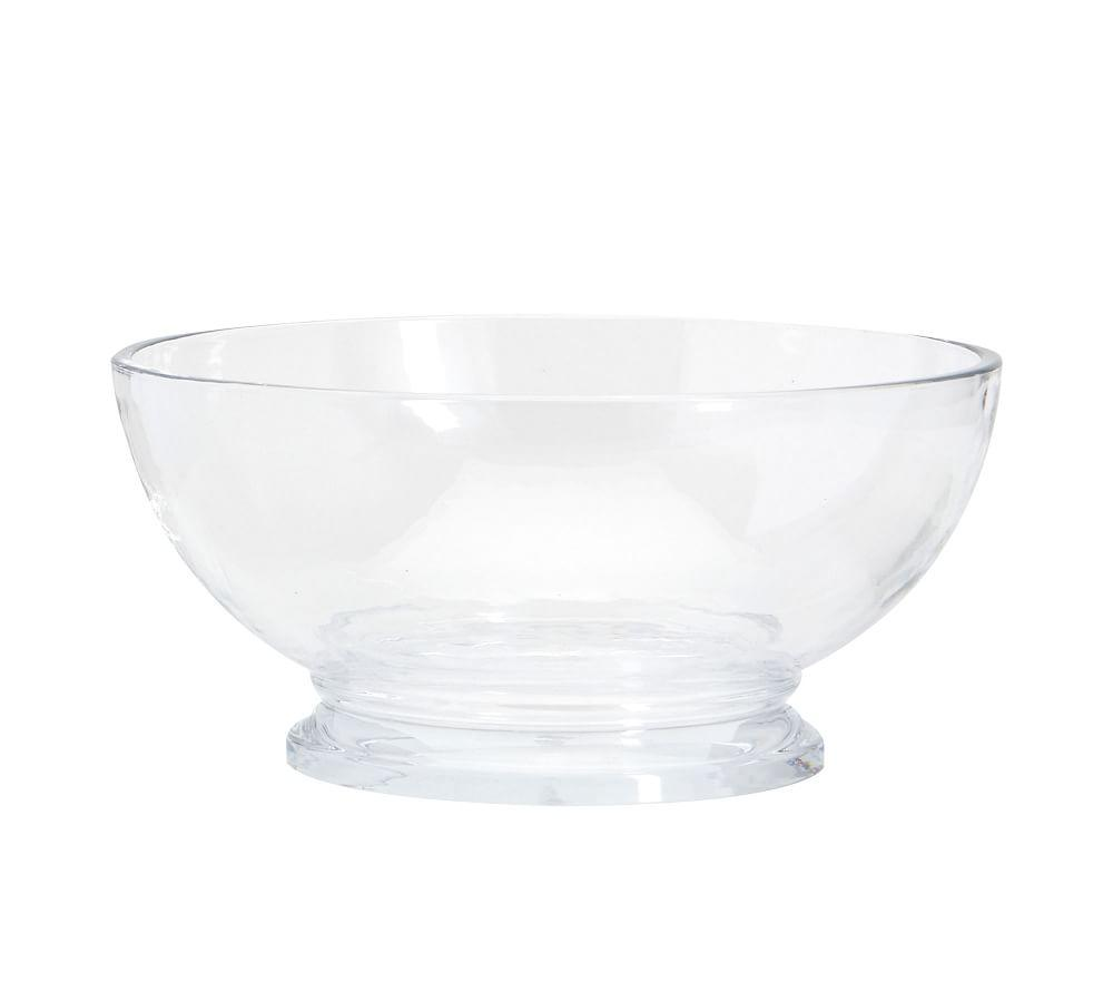 Grace Pressed Glass Serve Bowl