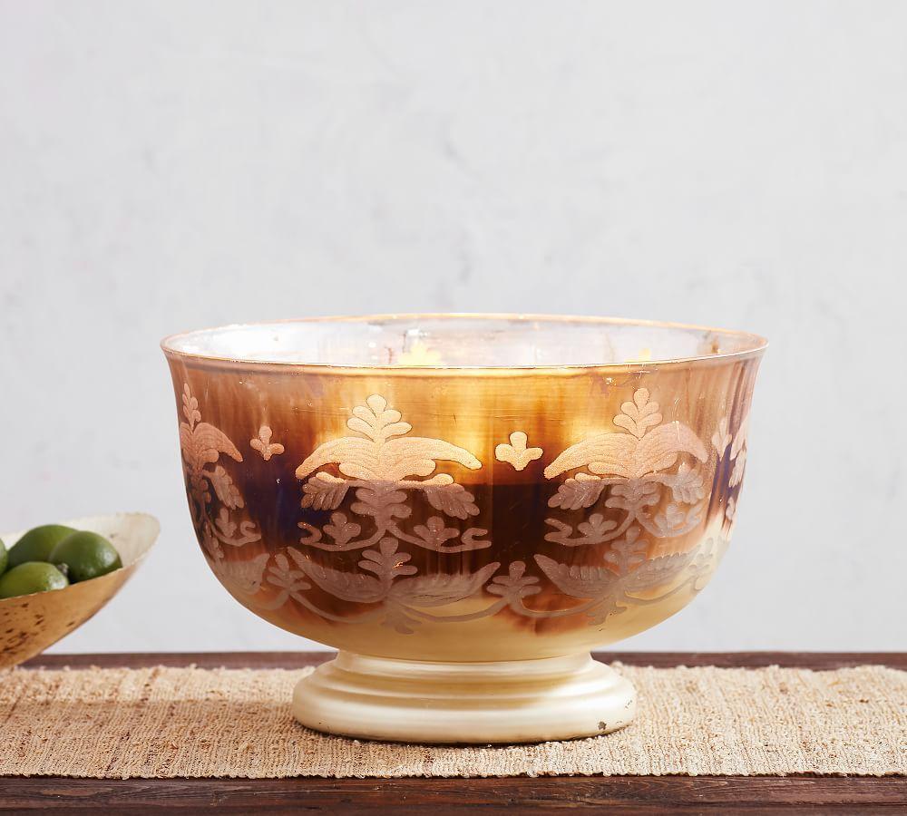 Oxidised Magnolia Candlepot