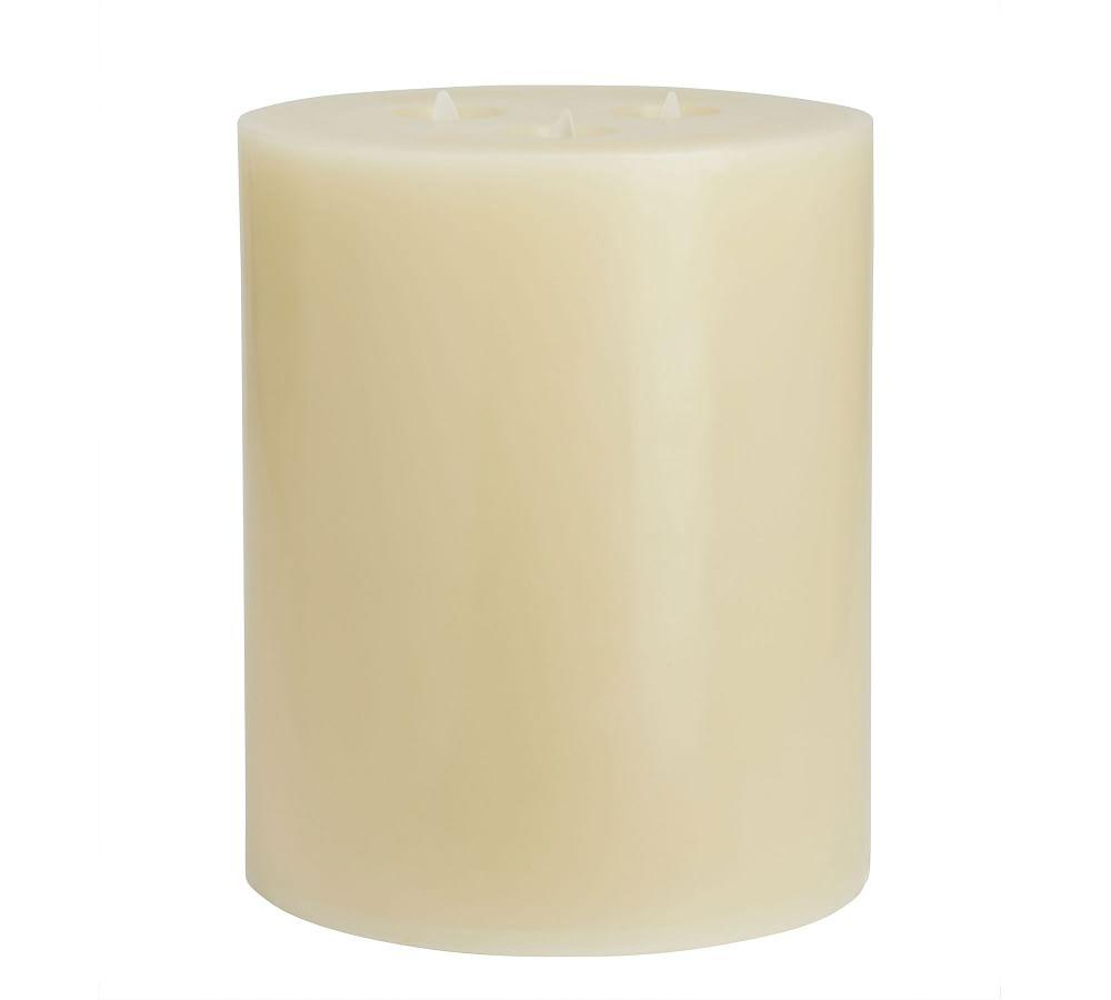 Premium Flicker Flameless Triple Wick Wax Candles