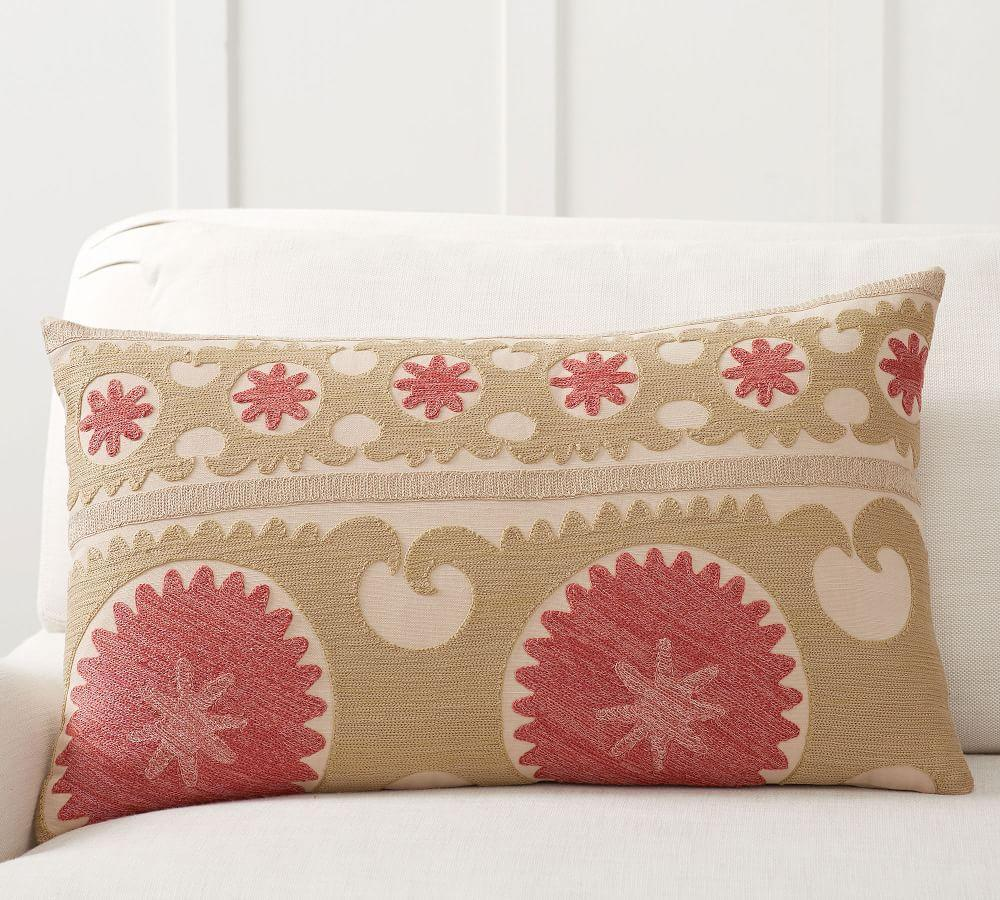 Somers Embroidered Cushion Cover
