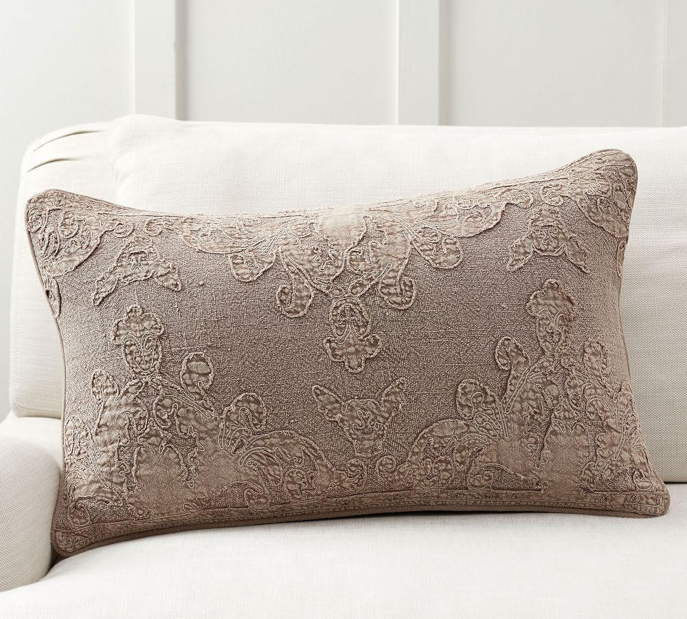 Marie Embroidered Cushion Cover