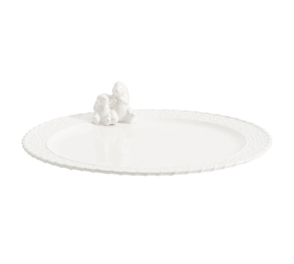 Bunny Basket Platter