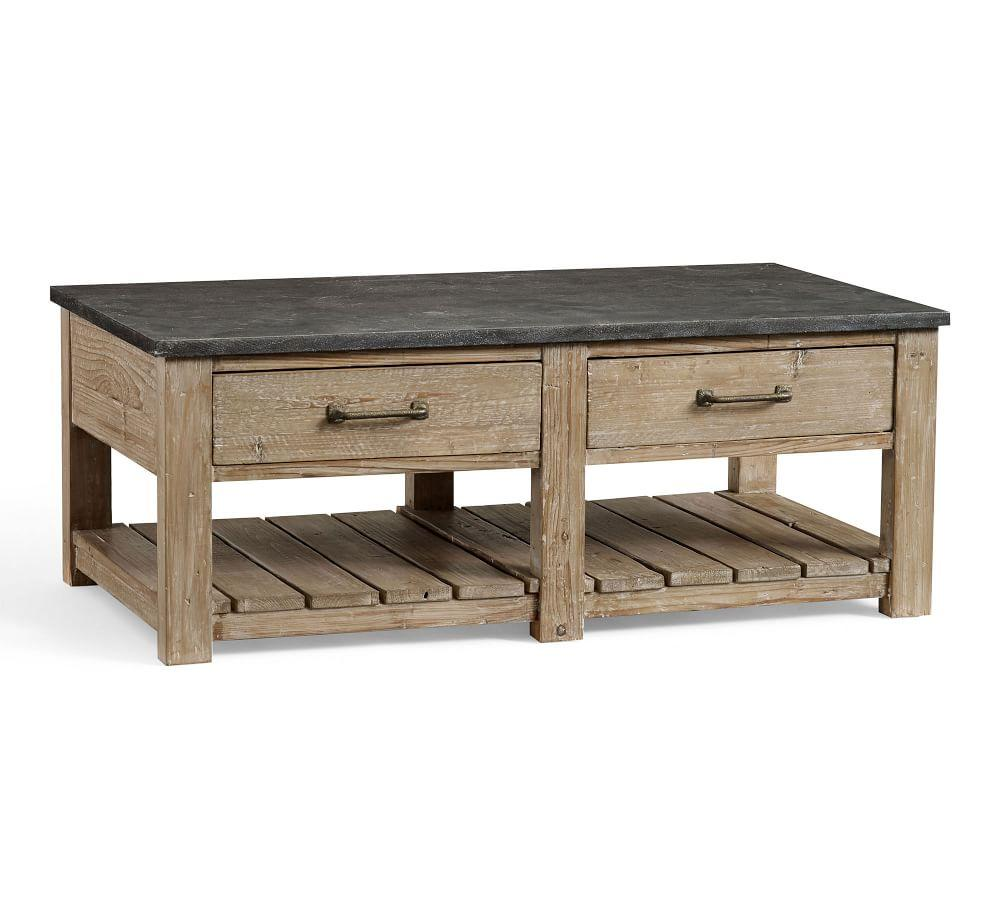 Parker Reclaimed Wood Coffee Table