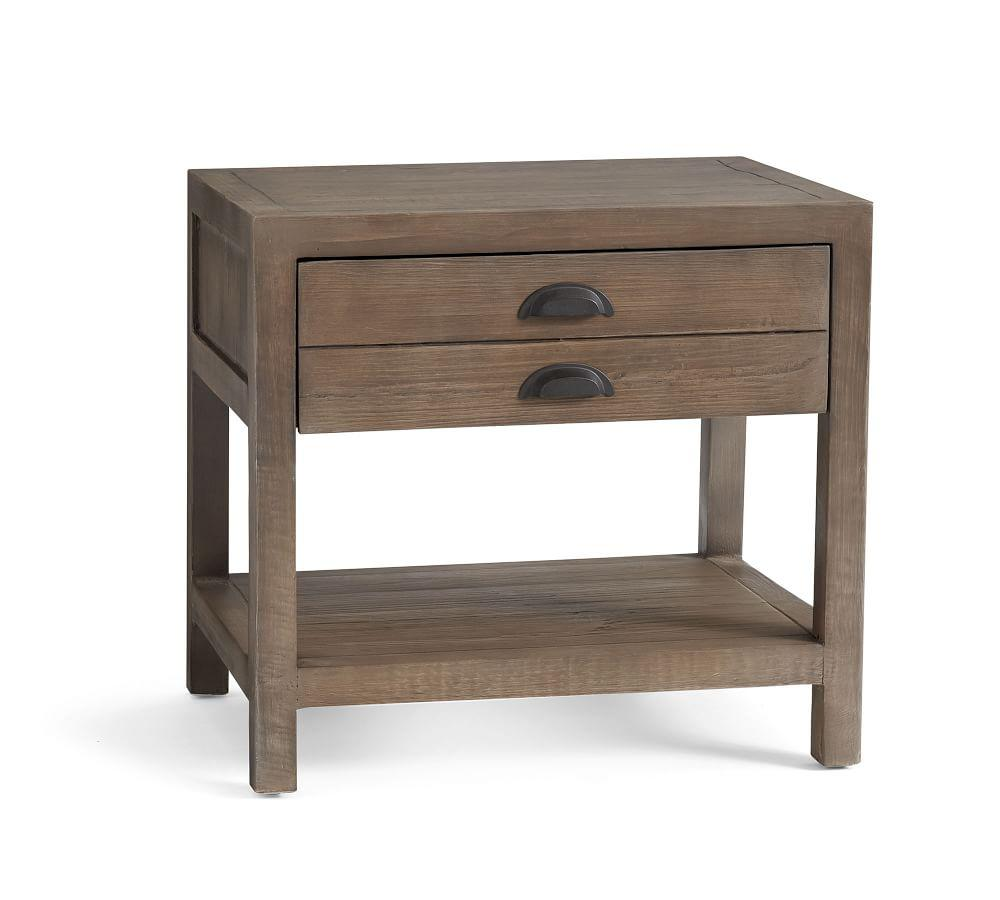 Architects Reclaimed Wood End Table