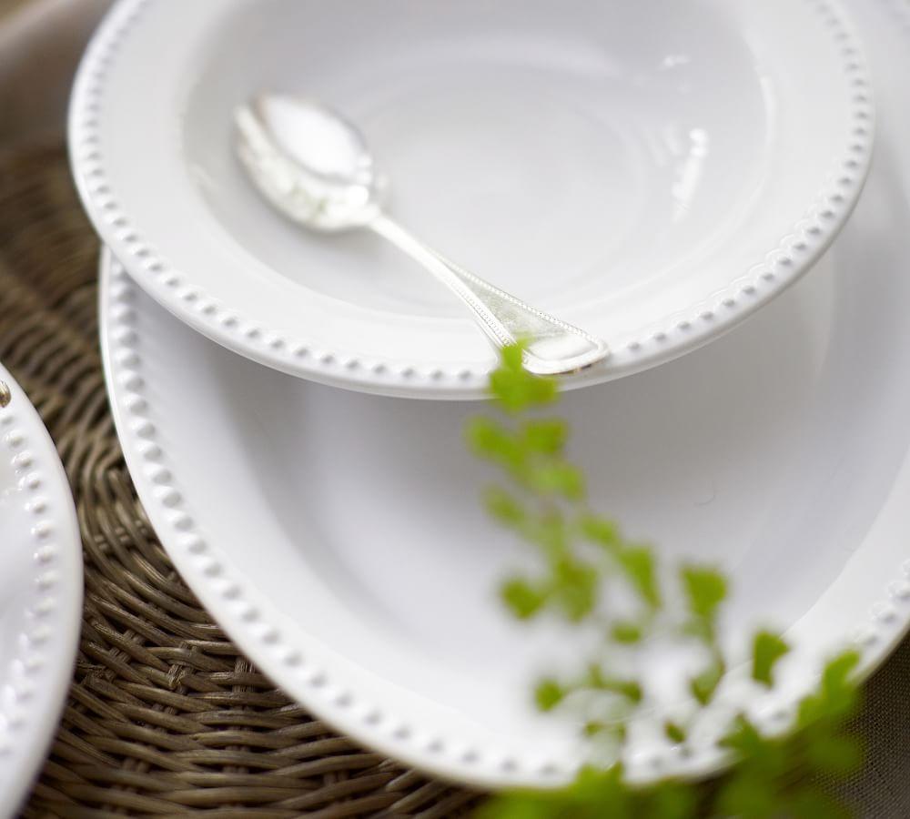 Emma Oval Serve Platter - True White