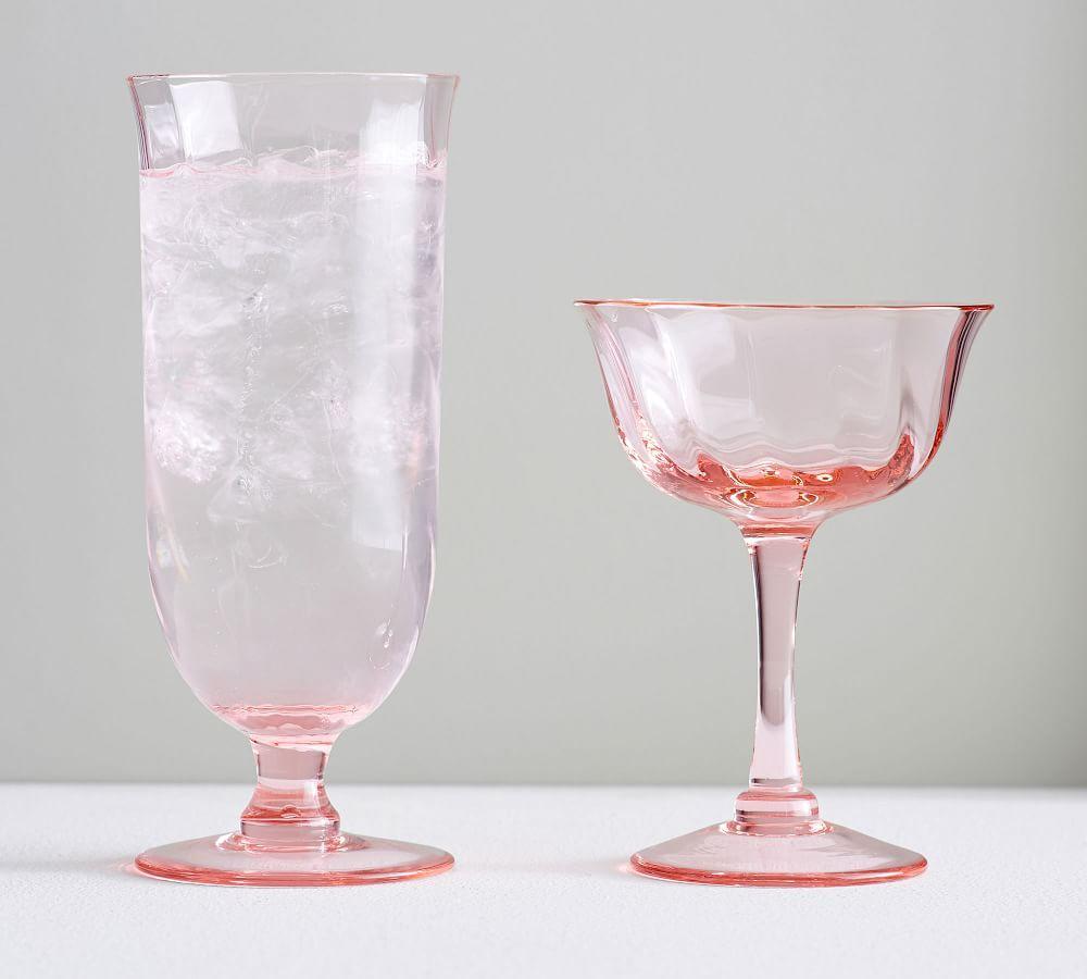 Monique Lhuillier Clare Champagne Coupe, Set of 4