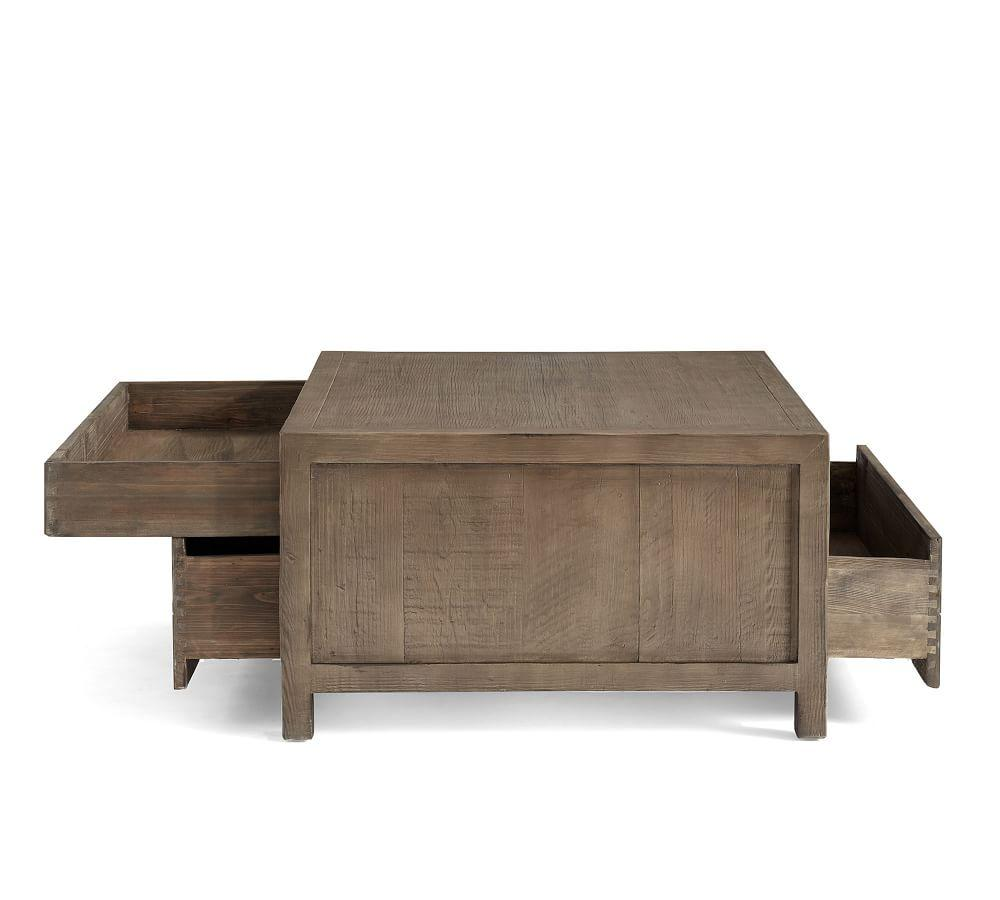 Architects Reclaimed Wood Coffee Table